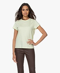 Filippa K Edna Organic Cotton T-shirt - Faded Acid