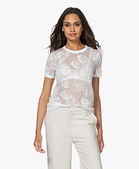 Rag & Bone Valencia Burn-out T-shirt - White