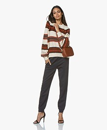Vanessa Bruno Holly Body Cross-body/Bum Tas - Cognac