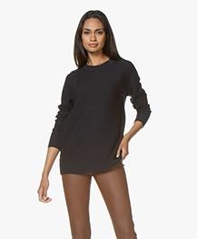 Drykorn Eboni Cashmere Mix Sweater - Dark Blue