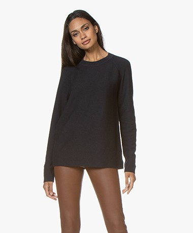 Drykorn Eboni Cashmere Mix Sweater - Dark Blue