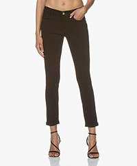 FRAME Le Garcon Slim-fit Jeans - Black