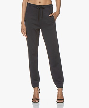 Filippa K Soft Sport Shiny Track Pants - Night Sky