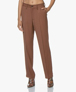 Closed Jools Pantalon in Viscose Twill - Mud
