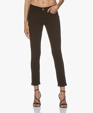 Frame Le Garcon Slim-fit Boyfriend Jeans - Black