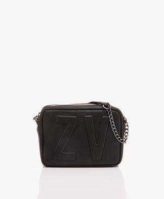 Zadig & Voltaire XS Boxy Initial Schoudertas - Zwart