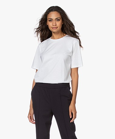 Filippa K Organic Cotton T-shirt - White