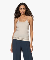 extreme cashmere N°146 Able Gebreide Top - Latte