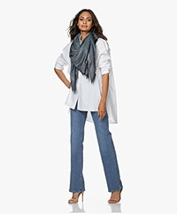 Zadig & Voltaire Kerry Jacquard Spark Lurex Scarf - Ice