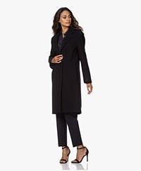 Filippa K Barnsbury Knee-length Wool Coat - Navy