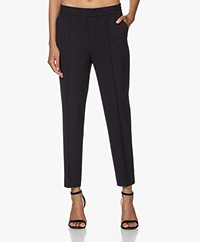 Filippa K Fiona Peg Tapered Pants - Navy