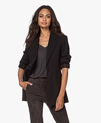 Filippa K Norine Wool Blend Blazer - Black