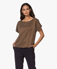 Drykorn Somia Cupromix Blouse - Earth