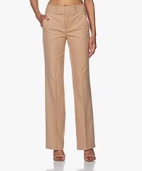 Drykorn Header Herringbone Pants - Warm Sand