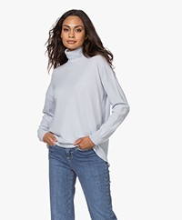 Closed Wool and Cashmere Turtleneck Sweater - Arctic Ice