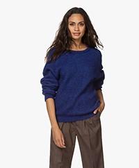 American Vintage East Alpaca Blend Sweater - Royal Blue