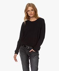 Denham Showa Crew Neck Sweater - Zwart
