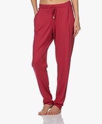 HANRO Sleep & Lounge Jersey Pants - Lucky Charm