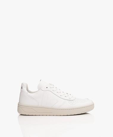 VEJA V-10 Leren Sneakers - Extra Wit