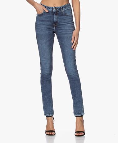 by-bar Bio-katoenen Stretch Skinny Jeans - Blauw