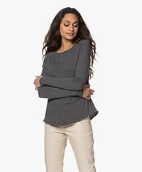 American Vintage Sonoma Slub Sweatshirt - Greyish Melange