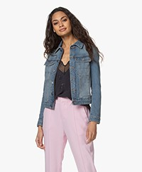 Zadig & Voltaire Kioky Denim Jacket - Blue