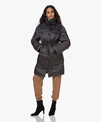 Closed Elmont Recycled Knee-length Coat - After Dark
