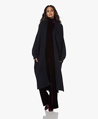 extreme cashmere N°195 Coat Cashmere Vest - Navy