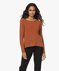 indi & cold Fine Knitted Sweater - Terracotta