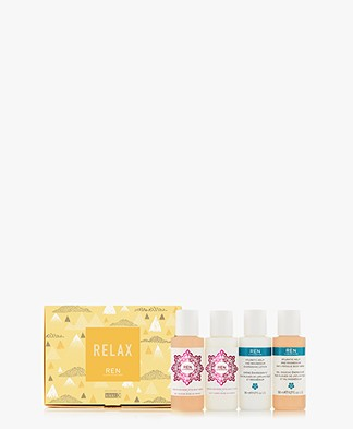 REN Clean Skincare Relax Body Wash & Lotion Gift Set
