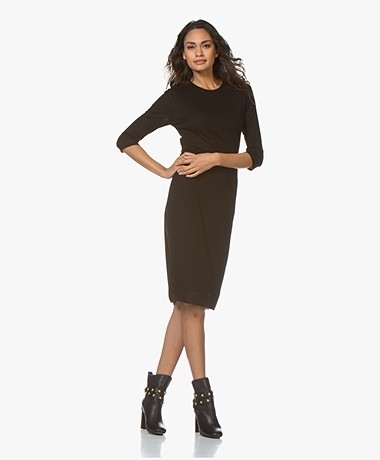 Filippa K Liana Jersey Dress - Black