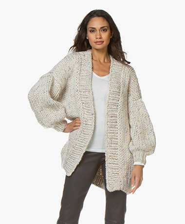 I Love Mr Mittens The Cardigan - Tornado White
