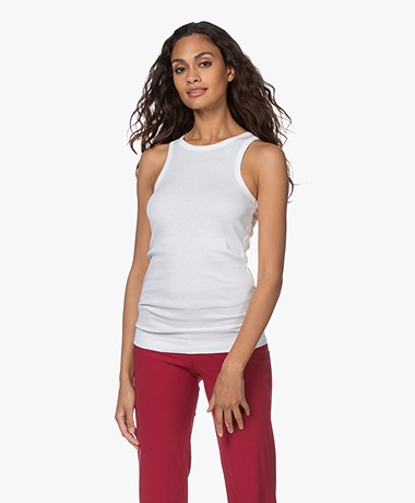 By Malene Birger Amiee Tank Top - Pure white