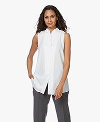 Woman By Earn Lot Mouwloze Blouse - Off-white