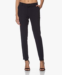 Woman by Earn Juliette Crêpe Pantalon - Navy