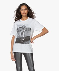 Wolford Limited Edition Helmut Newton T-shirt - Multi Grey