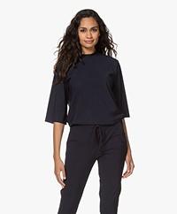 Woman by Earn Chris Tech Jersey T-shirt - Navy