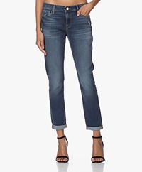 FRAME Le Garcon Girlfriend Jeans - Azure