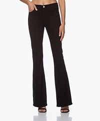 FRAME Le High Flare Jeans - Zwart