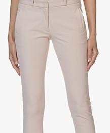 Joseph New Eliston Gabardine Stretch Pants - Oyster