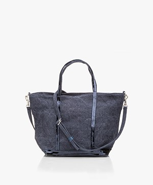 Vanessa Bruno Cabas Shoulder/Hand Bag - Denim