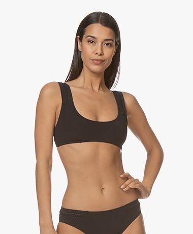 Calvin Klein Bralette Bikinitop - Zwart