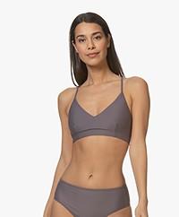 Filippa K Soft Sport Cross-back Bikinitop - Mauve