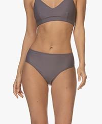 Filippa K Soft Sport Shiny Maxi Bikinislip - Mauve