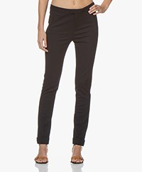 Repeat Viscose Blend Jersey Pants - Navy