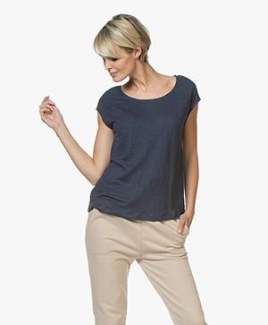 Petit Bateau Linnen Jersey T-shirt - Haddock