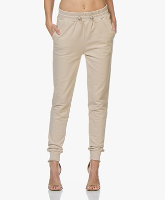 BOSS Techill French Terry Sweatpants - Medium Beige