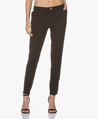 Josephine & Co Rowena Travel Jersey Pants - Black