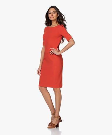 Kyra & Ko Sue Crepe Jersey Dress - Red