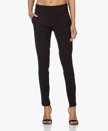 Woman by Earn Amber Tech Jersey Broek - Zwart
